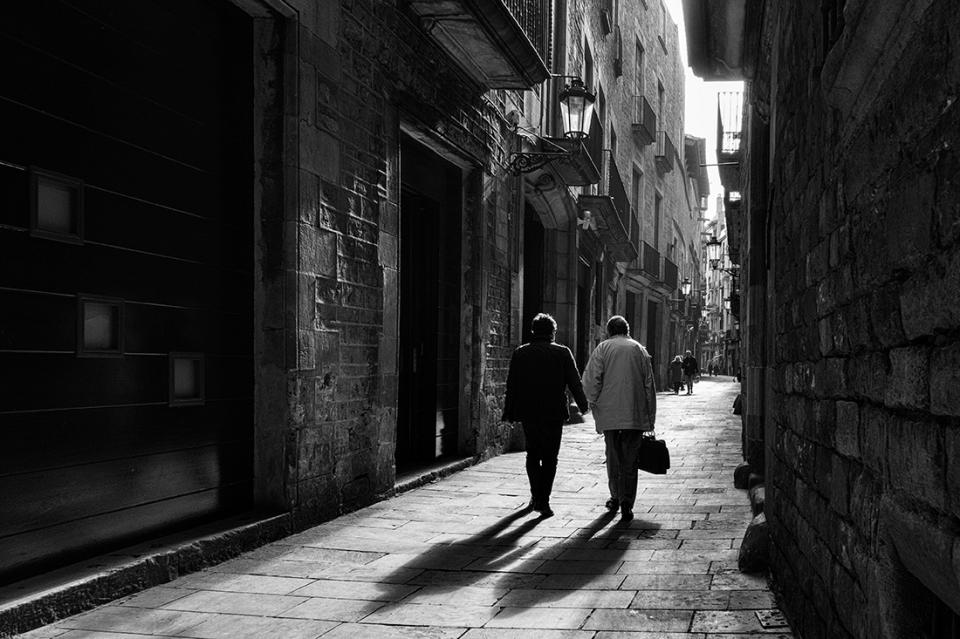 Montcada street. Barcelona