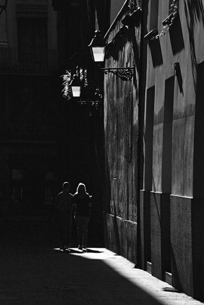 the alleyway