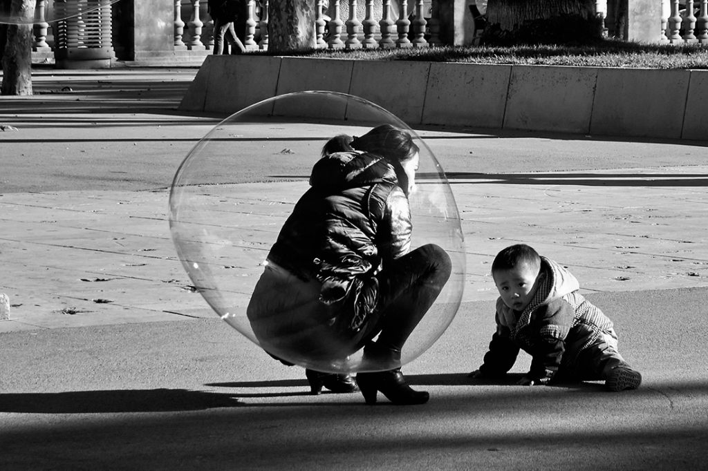mom bubble