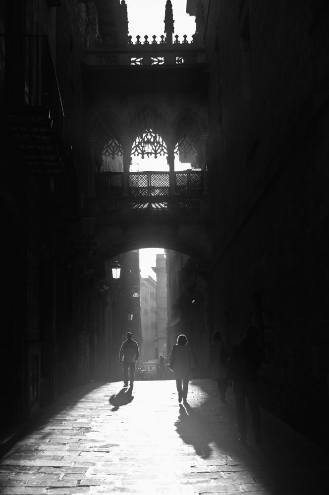 Bisbe street. Barcelona