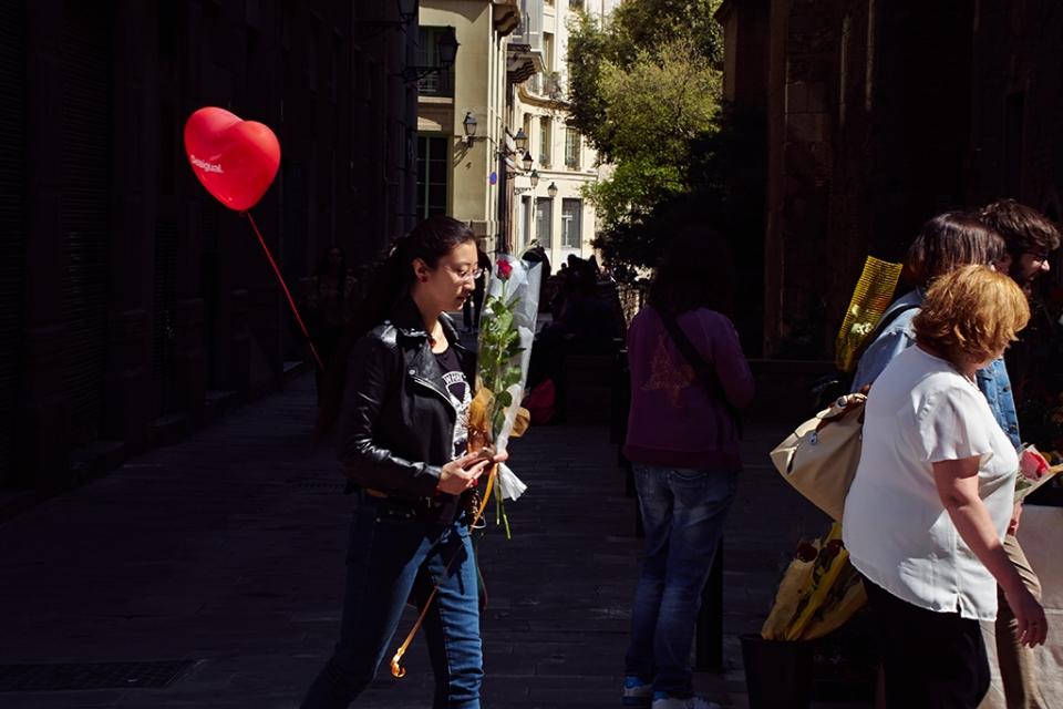 Sant Jordi 2015 - Barcelona
